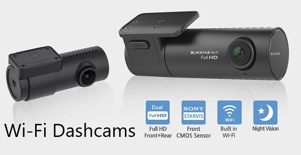 Wi-Fi Dashcams