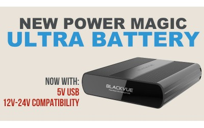 Nieuwe BlackVue Power Magic Ultra-batterij B-124X voegt 24V-compatibiliteit en USB-stopcontact toe